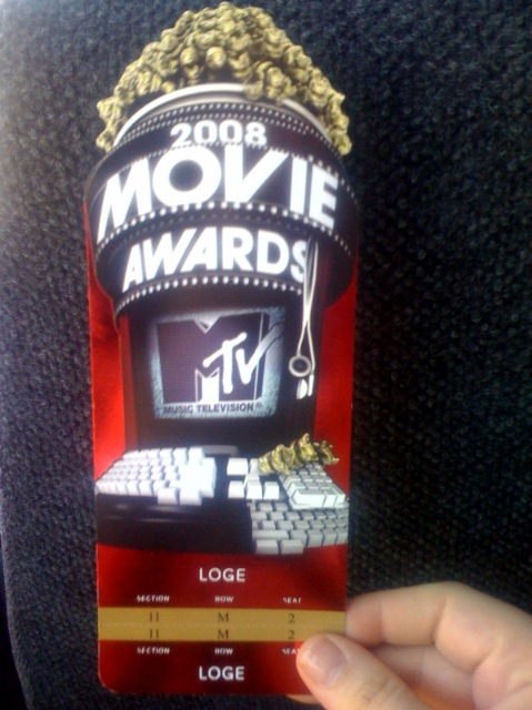 ON: Location @ The 2008 MTV Movie Awards