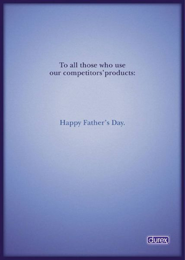 Happy Father's Day – Durex